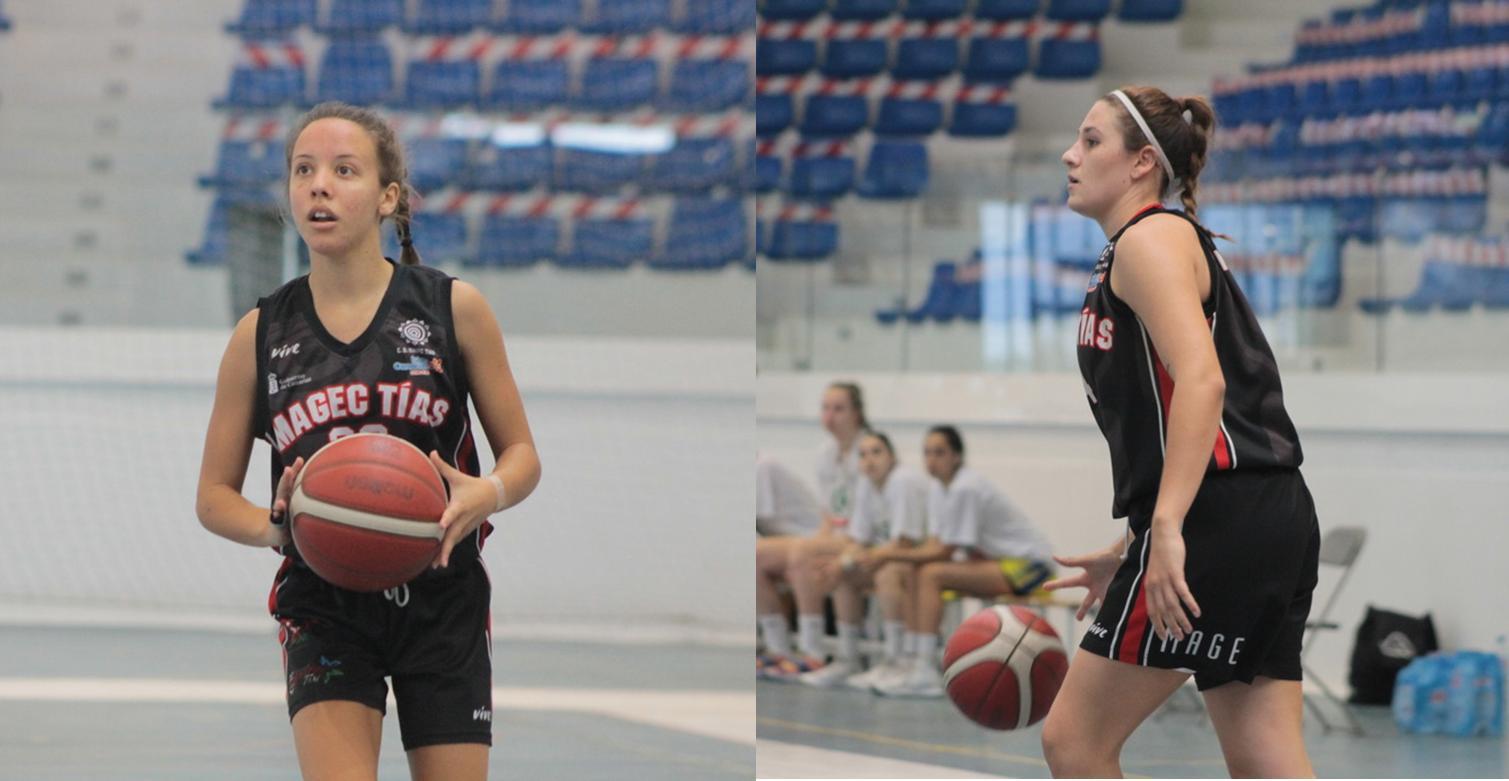 Ascenso al primer equipo de Noelia Lago y Faina Aparicio