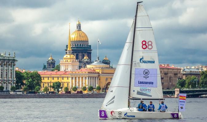 """""""Lanzarote - Wacaf Air"""" comienza hoy en San Petersburgo la Liga Europea de Vela"""